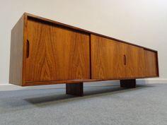Palisander Lowboard Rosewood Sideboard / Credenza 60er Jahre  Danish Modern