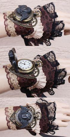 Cherub Watch Cuff by Pinkabsinthe.deviantart.com on @deviantART