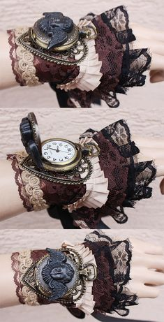 Cherub Watch Cuff by Pinkabsinthe.deviantart.com on @deviantART
