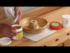 How to apply Food Safe Finishes (Woodturning Tips and Techniques)-be sure to read comments too