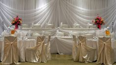chair covers for weddings basingstoke sitting 26 best chairs and images firebird elegant gold events head table decor tables decorations