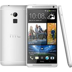 After a series of continuous leaks and rumors, HTC finally announced their bigger version of their flagship smartphone - HTC One. The new smartphone is bigger (and we mean it), better and comes right in between of smartphone and tablets. Best Android, Android Apps, Free Android, Htc One M7, Finger Print Scanner, Latest Gadgets, Windows Phone, New Phones, Mobile Phones