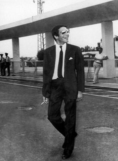 January 23, 1973: Alexander Onassis, son of shipping magnet Aristotle Onassis, is killed in a plane crash at Ellinikon International Airport in Athens, Greece. He was 24 years old. Alexander was buried next the the chapel on his father's private island, the Greek Ionian island of Skorpios. Approximately two years later Aristotle died and was buried next to his son. Photo:Keystone-France/Gamma-Keystone via Getty