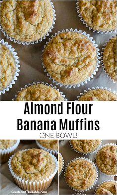 Baking With Almond Flour, Almond Flour Recipes, Muffins With Almond Flour, Desserts With Almond Flour, Almond Flour Cookies, Pecan Cookies, Low Carb Desserts, Low Carb Recipes, Healthy Recipes