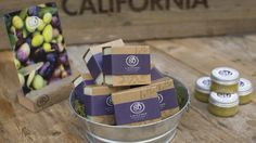 Our lavender collection, scented with the essential oils of lavender, ylang ylang, lemon and lime, evokes our colorful hillsides at McEvoy Ranch in full bloom.