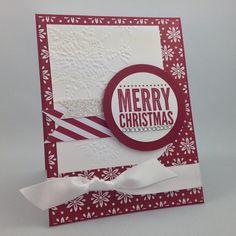 Angela McKay (@northshorestamper) | bring on Christmas!  #northshorestamper #angemckay #merryeverything #northernflurry #trimthetree #stampinup #papercrafting #cardmaking #christmascards #diy | Intagme - The Best Instagram Widget