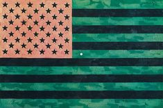 Flag (Moratorium) by Jasper Johns on artnet Auctions