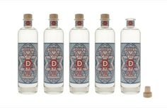Manchester-based United Creatives have created the identity and packaging for new gin brand Dodd's Gin, a small-batch gin produced by the London Distillery Company.