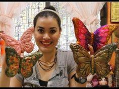 4 Ideas Geniales para pintar MARIPOSAS de Ceramica - YouTube Book Folding Patterns, Decoupage, Mosaic Art, Paint Colors, Ideas Geniales, Butterfly, Ceramics, Wall Art, Flowers