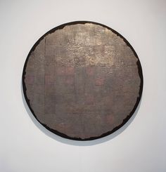 Black Silver Circle | From a unique collection of abstract sculptures at https://www.1stdibs.com/art/sculptures/abstract-sculptures/