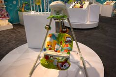 Pin for Later: 120 New Baby and Kid Products We Can't Wait to See in 2015 Fisher Price Woodland Friends Cradle and Swing The new Woodland Friends theme will appear on the cradle and swing.