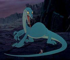 Joanna (also called Joanna the Goanna) is Percival C. McLeach's former pet Komodo dragon and the secondary antagonist from The Rescuers Down Under. Disney Wiki, Disney Art, Disney Movies, Disney Pixar, Disney Bounding, Kid Movies, Disney Villains, Disney Stuff, Disney Characters