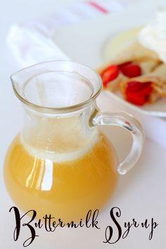 Homemade Buttermilk Syrup -ottimo su Pancake Crepes e cialde!! INGR: -1/2 tazza di burro -1 tazza di zucchero -1/2 tazza di latticello ( O in sostituzione facciamo 1/2 tazza di latte con 1 cucchiaino di succo di limone) -1/2 cucchiaino di bicarbonato di sodio -1 cucchiaino vaniglia. PROCEDIMENTO 1. Fondere il burro in una padella a fuoco medio-basso. Aggiungere lo zucchero, il latticello e la vaniglia e mescolate bene. Aggiungere bicarbonato di sodio e mescolare fino a quando tutto…