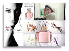 """""""spring perfume mon guerlain Angelina Julie"""" by teto000 ❤ liked on Polyvore featuring beauty, Guerlain, springperfume and angelinajulie"""