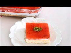 10 DAKİKA DA ÇOK KOLAY ORMAN MEYVE SOSLU PASTA TARIFI - YouTube Panna Cotta, Cheesecake, Pudding, Ethnic Recipes, Youtube, Desserts, Hotels, Search, Food
