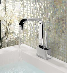 Edge Monobloc Bathroom Basin Tap from Crosswater http://www.crosswater.co.uk/product/edge/edge-basin-monobloc/