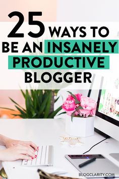 Productivity Hacks! Try these time management tips to streamline your blogging time. These simple tips work for any online business owner wanting to be more productive and get stuff done!