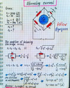 by Science Alternating Current Engineering Science, Electronic Engineering, Physical Science, Electrical Engineering, Physics Notes, Physics And Mathematics, Science Notes, Educational Technology, Science And Technology