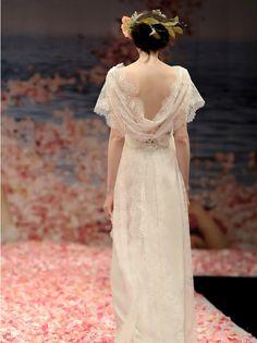 A dress makes a bride become fairy