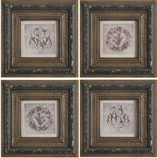Genevieve Wall Decor (Set of 4)