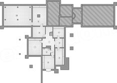 Projekt domu Willa Panorama 323,3 m2 - koszt budowy - EXTRADOM Floor Plans, Floor Plan Drawing, House Floor Plans