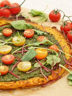 Vegane Süßkartoffel-Pizza: So gesund war unser Lieblings-Food noch nie!