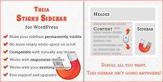 Download Theia Sticky Sidebar WordPress Plugin - http://wordpressthemes.me/download-theia-sticky-sidebar-wordpress-plugin/