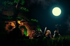 An Unexpected Gathering, from LEGO.com The Hobbit™
