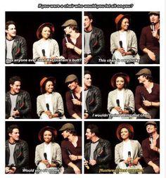 Michael, Kat and Ian Panel