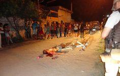 Jovem é assasinado a tiros em Teixeira de Freitas quando andava de bicicleta