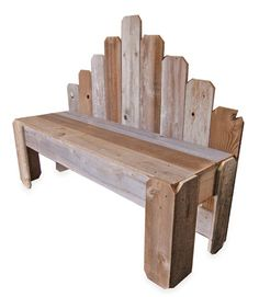 Bench, $300, from Trueconnection. (See more Etsy Sellers We Love: http://www.countryliving.com/crafts/etsy-sellers-we-love)