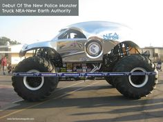 New Police Monster Truck NEA -New Earth Authority