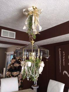 Christmas Chandelier decoration