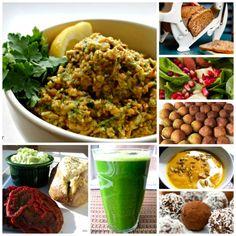 glutenfri vegansk madplan