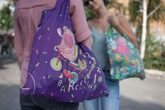We are making traveling fun again with the #Barcelona Bag by BROSMIND