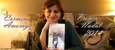 """Carmen Amoraga ganó el Premio Nadal 2014 con su novela """"La vida era eso"""". Esto es lo que nos contó en la entrevista que le hicimos para Olelibros.com. Libros, libro, novela, literatura"""