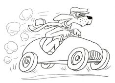 Go, Dog. Go! coloring page | Super Coloring