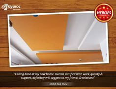 We are happy to create ceilings that match with our customer's personality. Stylish and strong!
