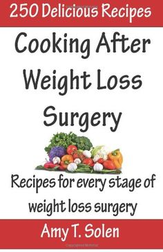Cooking After Weight Loss Surgery: Recipes for Every Stage of Weight Loss After Surgery by Amy T Solen,http://www.amazon.com/dp/1494290987/ref=cm_sw_r_pi_dp_Msrhtb14D8DADHHW