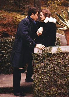 Romy Schneider and Alain Delon.