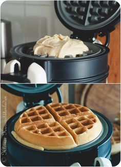 Buttermilk waffles - Food - Perfect Dessert and Recipes Easy Cake Recipes, Sweet Recipes, Baking Recipes, Dessert Recipes, Bread Recipes, Donut Recipes, Recipes Dinner, Buttermilk Waffles, Pancakes And Waffles