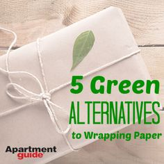5 Alternatives to #Wrapping #Paper: http://www.apartmentguide.com/blog/5-green-alternatives-wrapping-paper/ #Christmas #holiday #eco #green #ecofriendly #reuse #recycle