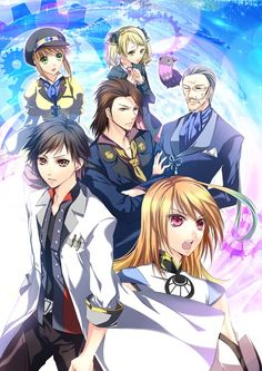 Tales of Xillia - Jude's group
