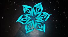 Diy Paper, Paper Crafts, Diy Crafts, Snow Flakes Diy, Paper Stars, Snowflakes, Templates, Make It Yourself, Art