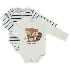 Baby Body langarm im 2er Pack