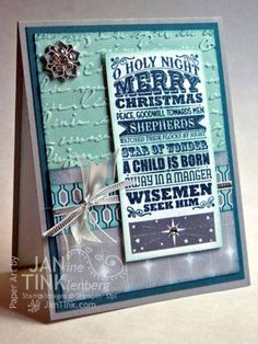 O Holy Night by JanTInk - Cards and Paper Crafts at Splitcoaststampers