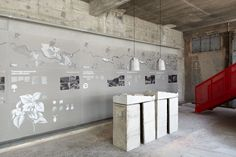 ccrz - Holcim - Il percorso del cemento #CCRZ #signage #Exhibitiondesign #Exhibition
