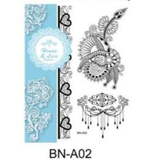 New Fashionable 2016 sexy white lace henna tattoo sticker for hands Lace Tattoo, Color Change, White Lace, Henna, 3d, Stickers, Tattoos, Sexy, Tatuajes