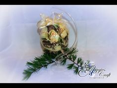 Decoupage Tutorial - decoupage on Christmas bauble