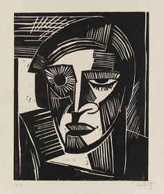 Image result for karl schmidt-rottluff woodcuts